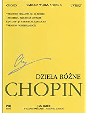 Various Works for Piano, Series A: Chopin National Edition 12A, Volume XII