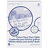 Pacon PACMMK07430 Chart Tablet, Picture Story, 24'' x 32'', White, 25 Sheets