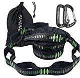 Sahara Sailor hammock tree straps are constructed by stretch resistant polyester webbing, ensuring durability in a wide variety of outdoor conditions. These hammock straps offer 30 combined adjustment points and are strong enough to hold up to 1400lb...