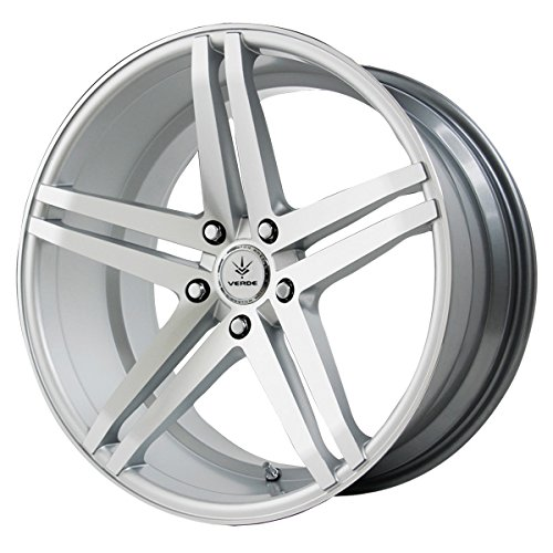 Verde Custom Wheels Parallax Silver Wheel with Machined Face (20x10