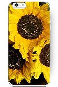 SPRAWL New Fashion Creative Vintage Design 4.7 Inch Apple Iphone 6 Flower Case -- Lovely Sunflower Pattern