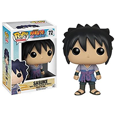Funko POP Anime: Naruto Sasuke Action Figure: Funko Pop! Animation:: Toys & Games