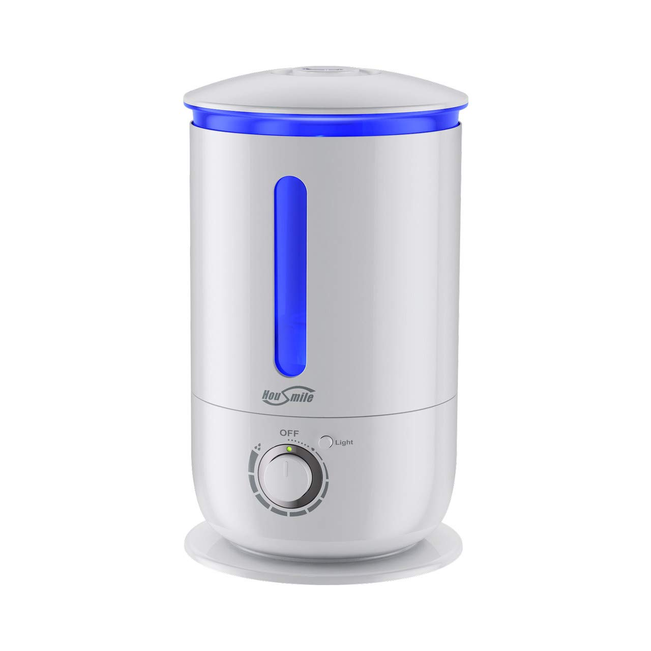 Housmile Cool Mist Ultrasonic Humidifier, 3.5L Large Capacity, Ultra-Quiet Operation Auto Shut-Off Humidifier for Home and Large Office