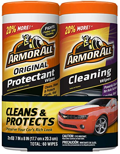Armor All Original Protectant & Cleaning Wipes...