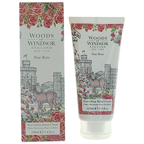 (True Rose by Woods of Windsor Hand Cream 3.4 oz Women)