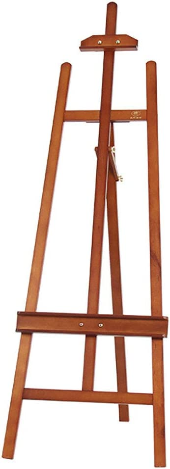 NYDZDM イーゼル木製 1.55M ブラケット 大人用 油絵 無垢材 スケッチ イーゼル 絵画 折りたたみ式 木製 絵画 棚 アクティビティ ディスプレイ ラック