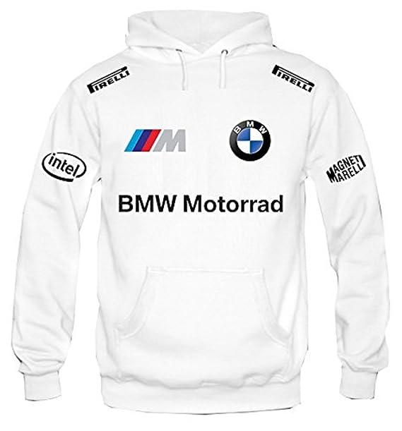 Sudadera con capucha bmw motorrad racing personalizado (M)