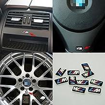 5pcs Self-Adhesive M Tec Sport BADGE STICKER EMBLEM fits BMW M3 M5 M6 Wheel New