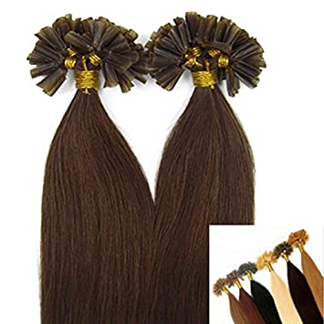 Amazon fusion pre bonded u tip keratin remy double drawn fusion pre bonded u tip keratin remy double drawn human hair extensions 1g 18quot pmusecretfo Images