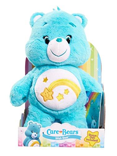Care Bears Wish Medium Plush with DVD]()