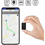 Mini GPS Tracker Portable SOS 2G GPS Location Tracker Real Time Tracking with Magnetic for Vehicles Kids Dogs Cats Keys Motorcycles Pets Car