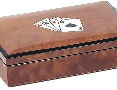 Bello Games Collezioni - Celestino Luxury Briarwood Playing Card Set from Italy