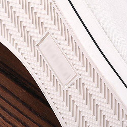 delle stile 41 scarpe uomini casuali Size delle tela di di tela YaNanHome degli di uomo Scarpe Scarpe Espadrillas Bianca di Color tela da coreano selvaggi di basse scarpe estate Bianca xqTxv