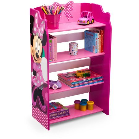 Disney Minnie Mouse Storage Bookshelf