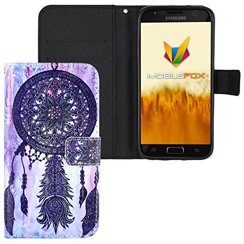 Mobilefox Traumfänger Flip Case Handytasche Samsung Galaxy S7