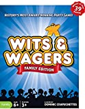 North Star Games Wits & Wagers Family Edition - Kid Friendly Party Game and Trivia