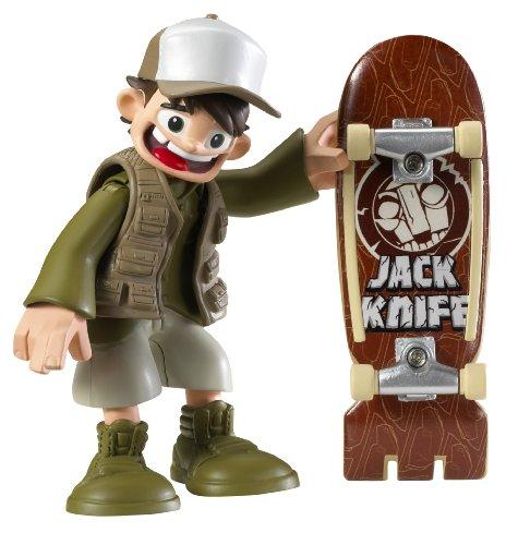 Rob Dyrdek's Wild Grinders Jack Knife Action Skate Set With DVD (Wild Grinders Jack Knife)