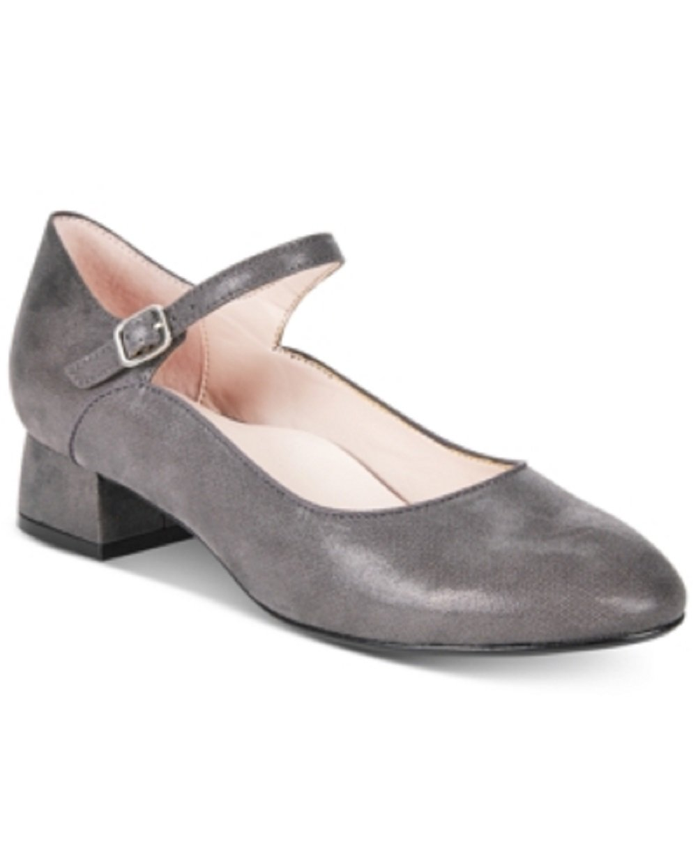 Taryn Rose TR Fannie Mary Jane Pumps Women's Shoes 10.5 Grey