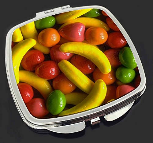 Fruchtbonbons Make-up Taschenspiegel Weihnachtsgeschenk
