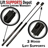 Qty (2) FORD Explorer 2002 To 2010 Hood Lift Supports Struts Shocks Props (exc 2001 To 2005 sport Trac)