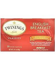 Twinings Decaffeinated English Breakfast Tea, 20 ct