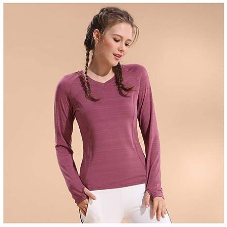 LDDOTR Camisetas de Yoga para Mujeres, Camisas Deportivas de ...