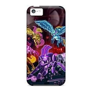 Awesome UTELJFf5435mtulg Cynthaskey Defender Tpu Hard Case Cover For Iphone 5c- My Little Ponybot