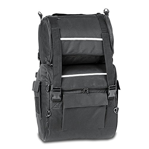 Raider Nylon Motorcycle Heavy Duty Tour Pack