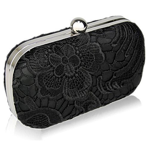 Festival Clutch LeahWard Evening Black Bag Wedding Women's 30 Classy Ladies Clutch Ladies Purses Chic Size Evening Small Bag Lace Clutch Cute Bags Bag Party wO8qYOSrx