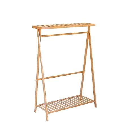Perchero Feifei Burro Nordic Coat Rack Rack de bambú para ...