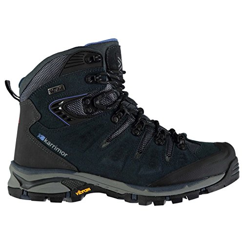 Karrimor Womens Leopard WTX Walking Boots Lace Up Breathable Waterproof Padded Navy JOoqR9DvT