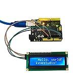 KEYESTUDIO 1602 LCD IIC/I2C/TWI Display for Arduino Uno R3 Mega 2560 Raspberry Pi Avr Stm32