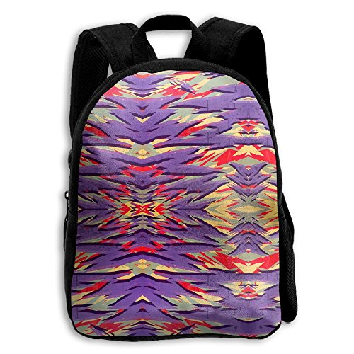 Painting Abstrat Artwork Boys Girls Popular Printing Toddler Kid Pre School Backpack Bags Lightweight
