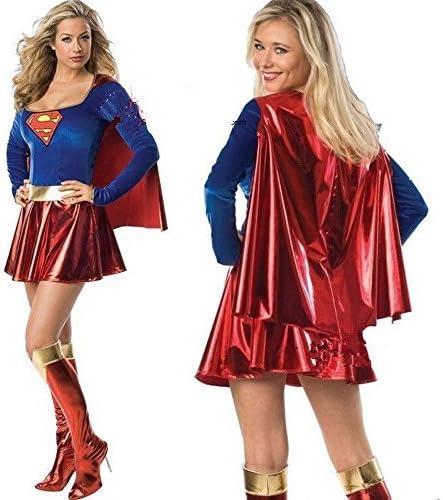HANAHANA - Disfraz de Halloween Supergirl para Mujer (8349 ...