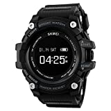 SKMEI Sports Smart Watches for Men BT 4.0 Smartwatch Waterproof 3ATM SMS APP Reminder Pedometer Tracker Remote Camera for IOS Android