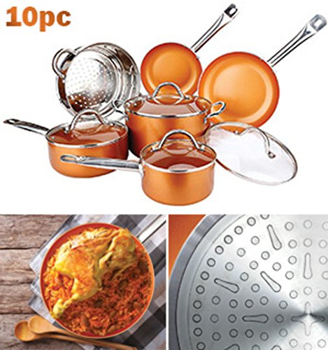 6 piece pot and pan set - 7