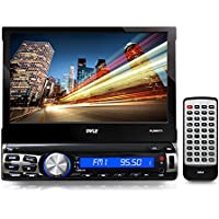 Pyle PLRNV71 Bluetooth 7-Inch GPS Navigation Headunit Receiver with Built-In Mic for Hands-Free Call Answering, Touch Screen