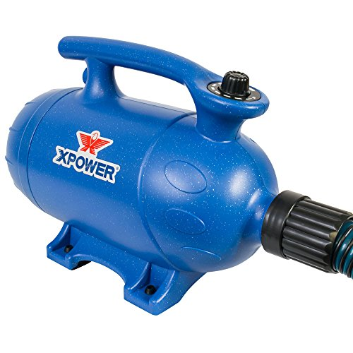 XPower 2-in-1 Pet Dryer and Vacuum - 3 HP - Variable Speed