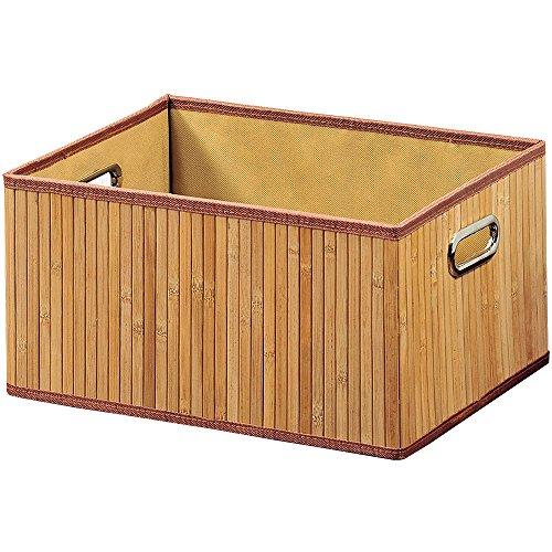 Superieur KESPER 57710 Boite De Rangement 28x38x20cm En Bambou, Multicolore,  37x9,5x31,5 Cm: Amazon.fr: Cuisine U0026 Maison