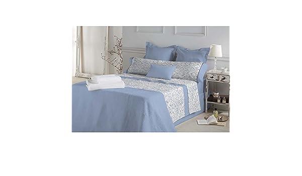 Don Algodón.- Juego de sabanas Emmy color Azul para cama de 150 ...