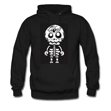 amazon com diyhoodie sugar skull hoodie custom men s classic