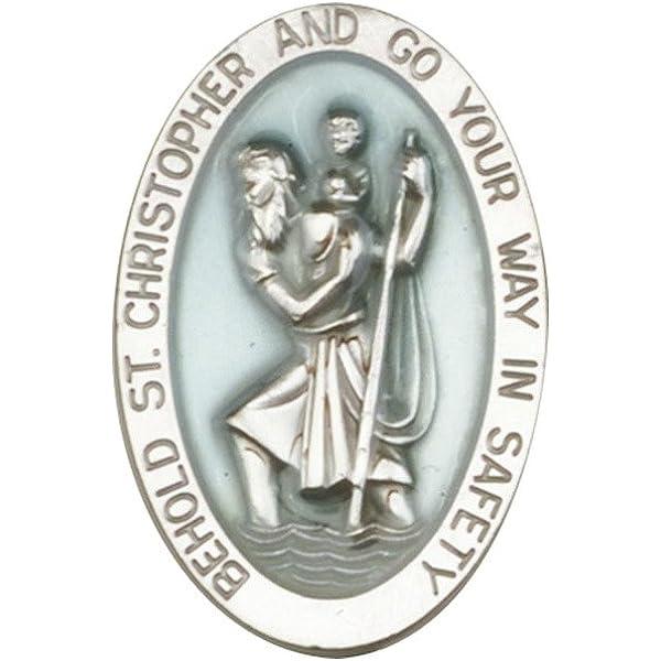 Christopher Visi/ère Clip Dor/é antique St