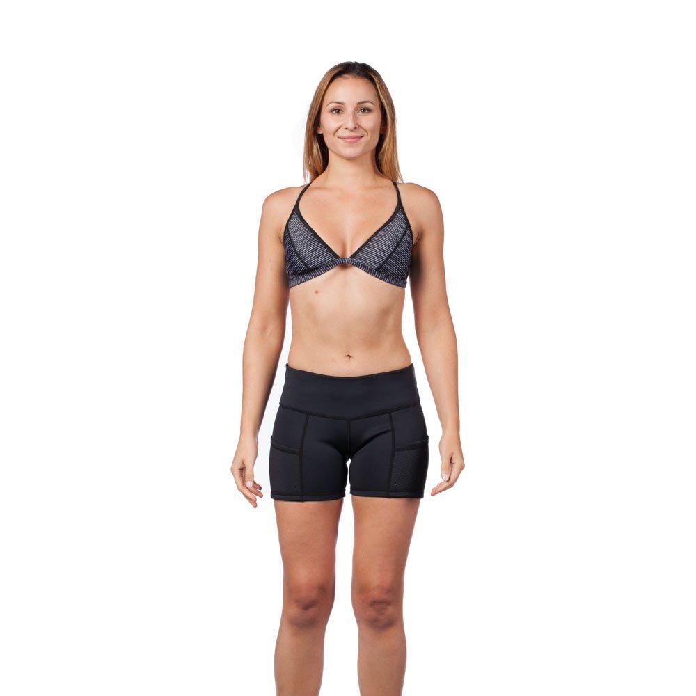 Level Six Women's Sombrio Neoprene Shorts, Small, Black by Level Six