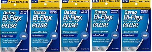 (Osteo Bi-Flex(R) Ease Advanced Triple Action Trial Pack, 7 Mini Tablets (5 Pack))