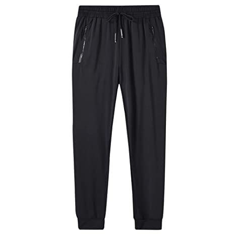 Pantalones de chándal Jogger para hombre Sección delgada de verano ...