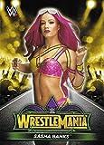 #2: 2018 Topps Road to WrestleMania Road to WrestleMania 34 Roster #R-27 Sasha Banks Wrestling Wrestling