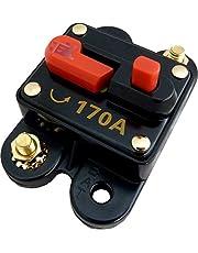 Jex Electronics 170 Amp in-Line Circuit Breaker Stereo/Audio/Car/RV 170A/170AMP Fuse 12V/24V/32V