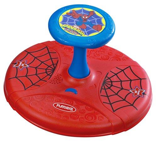 Hasbro Playskool Sit 'N Spin Spider-Man