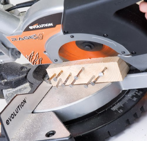 Review Evolution Power Tools RAGE3 10-Inch Multipurpose Cutting Compound Sliding Miter Saw