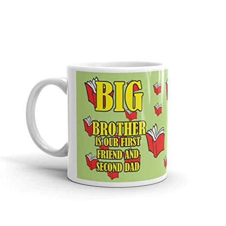Buy Family Shoping Birthday Gifts For Brother Mugs First Coffee Cup Tea Mug 320ml Diwali Gift Items Online At Low Prices In India